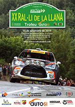 Portada Revista XX Ral·li de la Llana